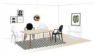 3 stilempfehlungen für dein esszimmer – homemate ♧ interior, Esszimmer dekoo