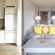 Vorher-Nachher Esszimmer Küche Wohnzimmer