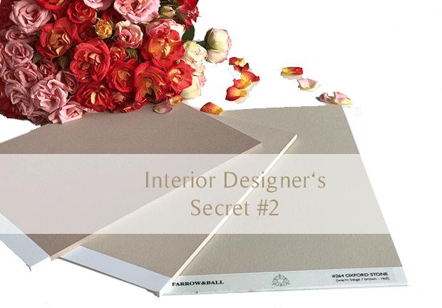 interior designers secret to color