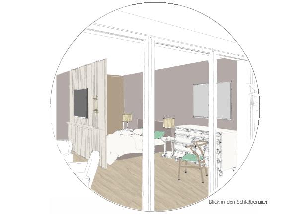FeWo Schlafzimmer Entwurf