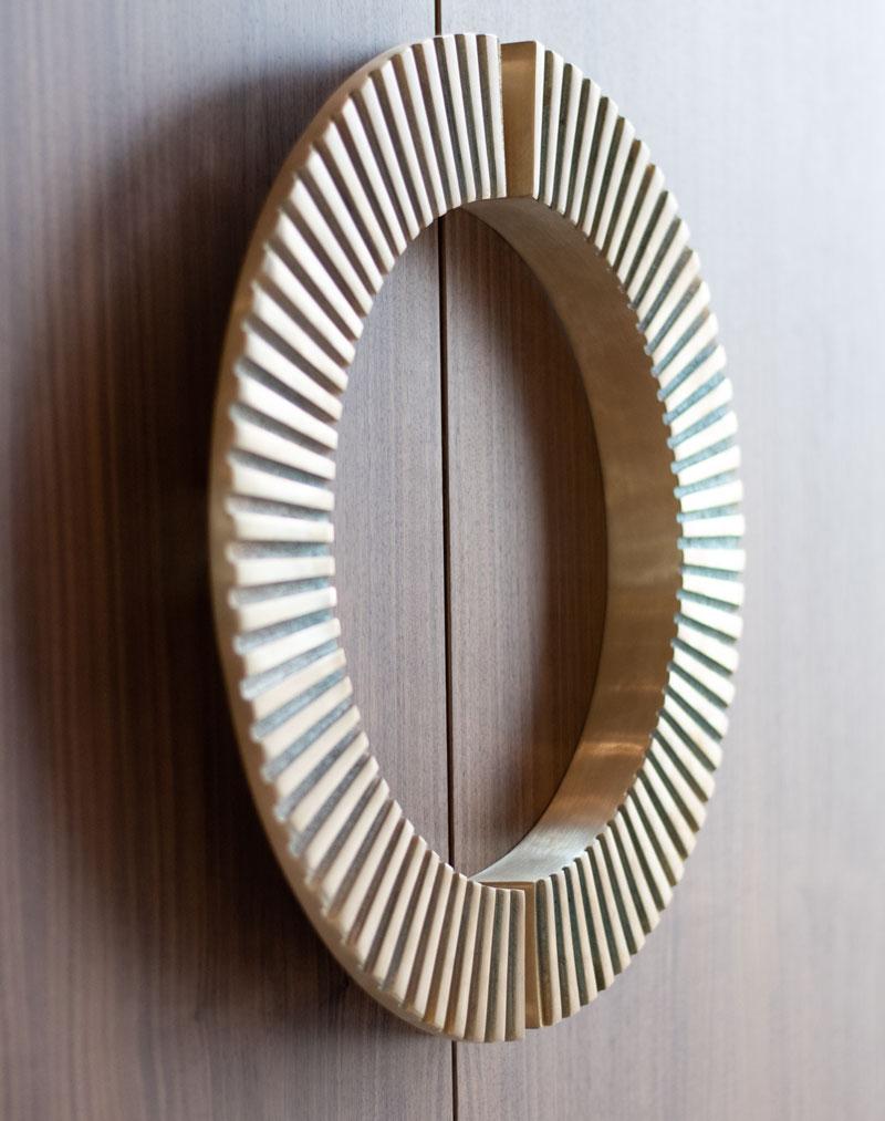 Schrankgriffe Messinggriffe Inneneinrichtung Ideen Einrichtungsideen Kundenprojekt Einrichtungskonzept Interior Design Räume planen