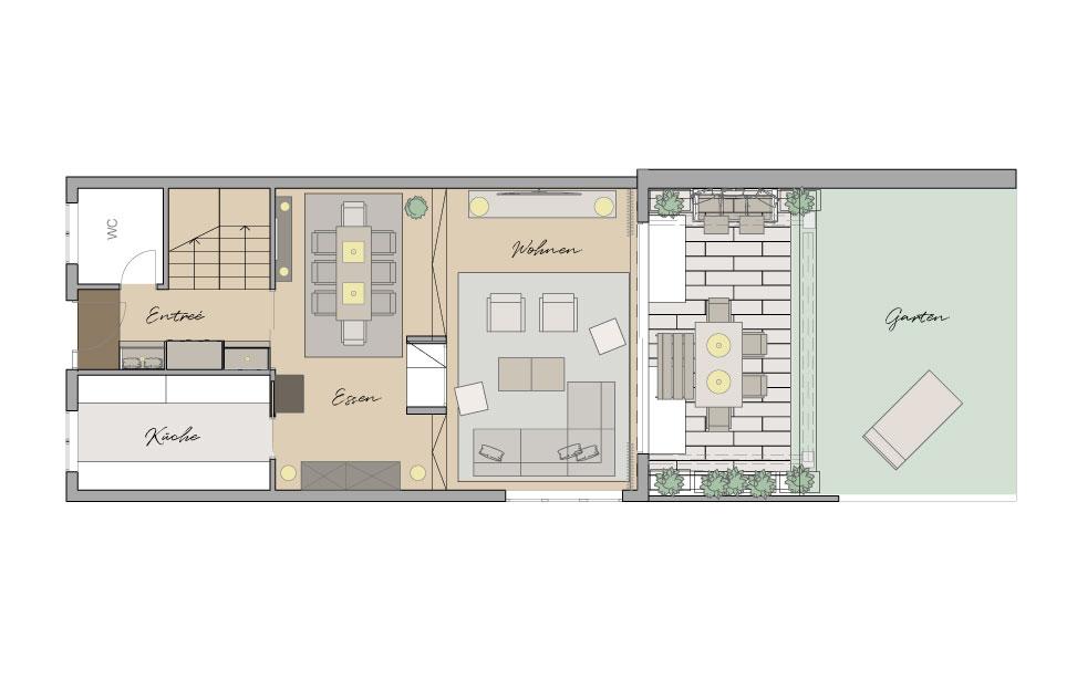 Raumanalyse Grundriss Raumaufteilung Interior Design
