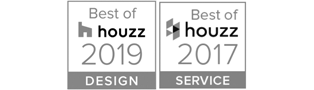 Best of Houzz Award Design 2019 und 2017