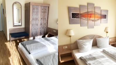 Wohnkonzepte Vorher Hotelzimmer ferienwohnung