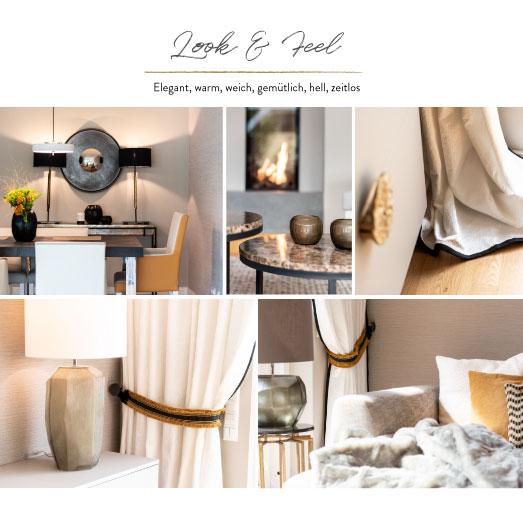 Look and Feel elegant warm weich gemütlich hell zeitlos Einrichtung Einrichtungskonzept